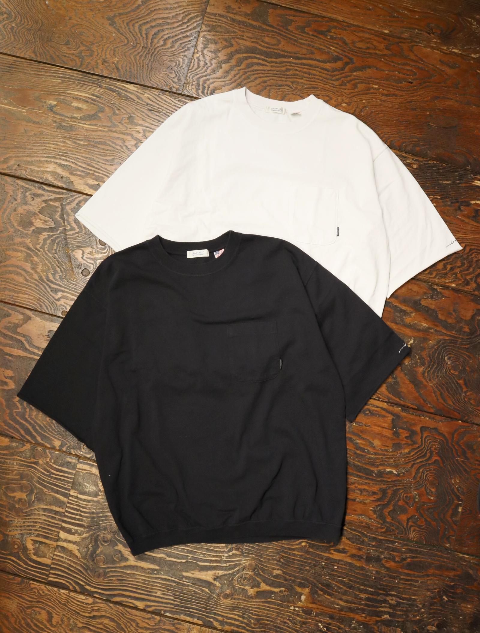 RADIALL  「FLEETLINE - CREW NECK T-SHIRT S/S」  ハーフスリーブティーシャツ