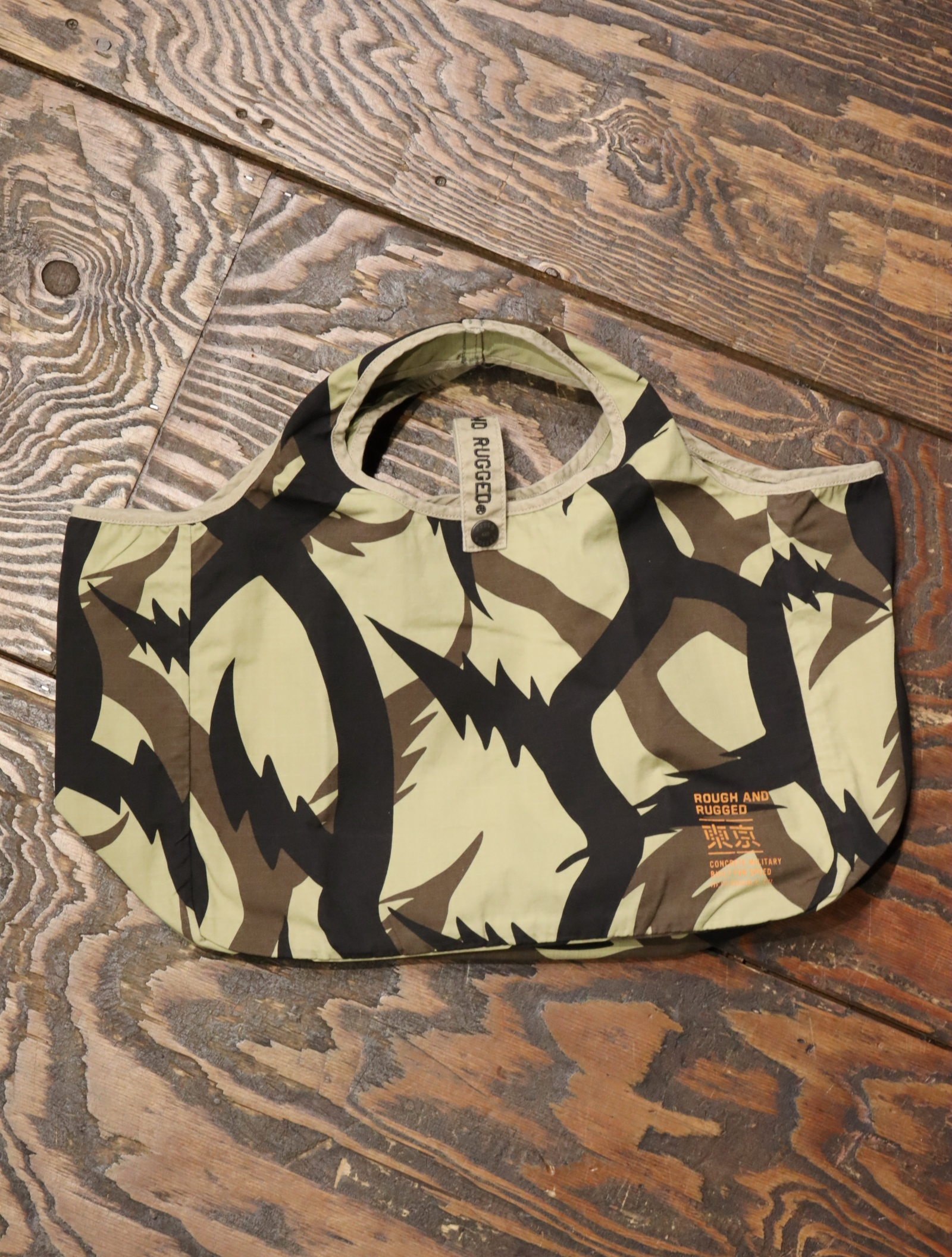ROUGH AND RUGGED   「DESERT TOTE」  トートバッグ