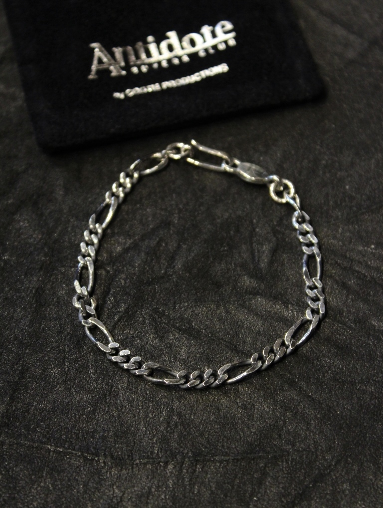 ANTIDOTE BUYERS CLUB by Cootie Productions   「 Figaro Chain Bracelet 」 SILVER950製 ブレスレット