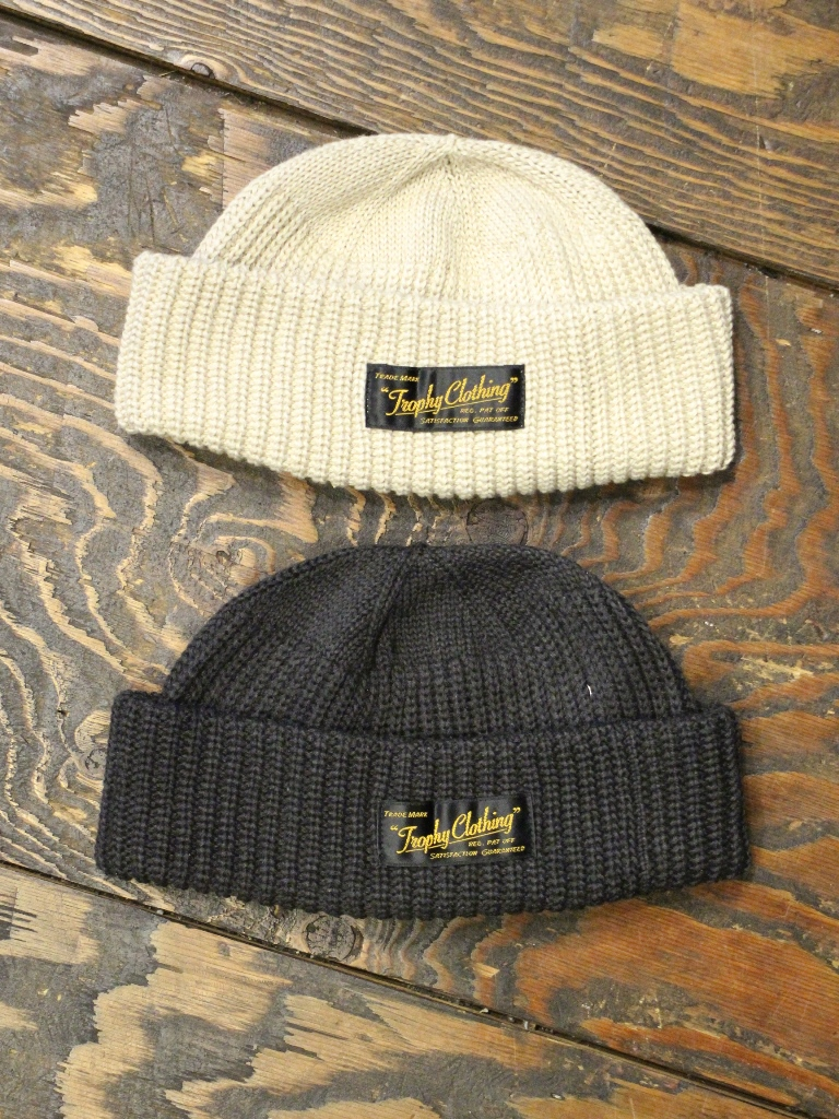 TROPHY CLOTHING   「Whole Garments Knit Cap 」  ニットキャップ