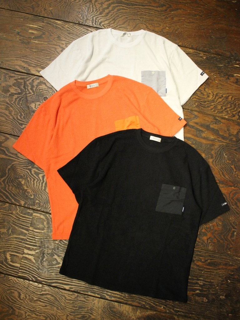 RADIALL    「BAJA - CREW NECK POCKET T-SHIRT S/S」 パイルティーシャツ