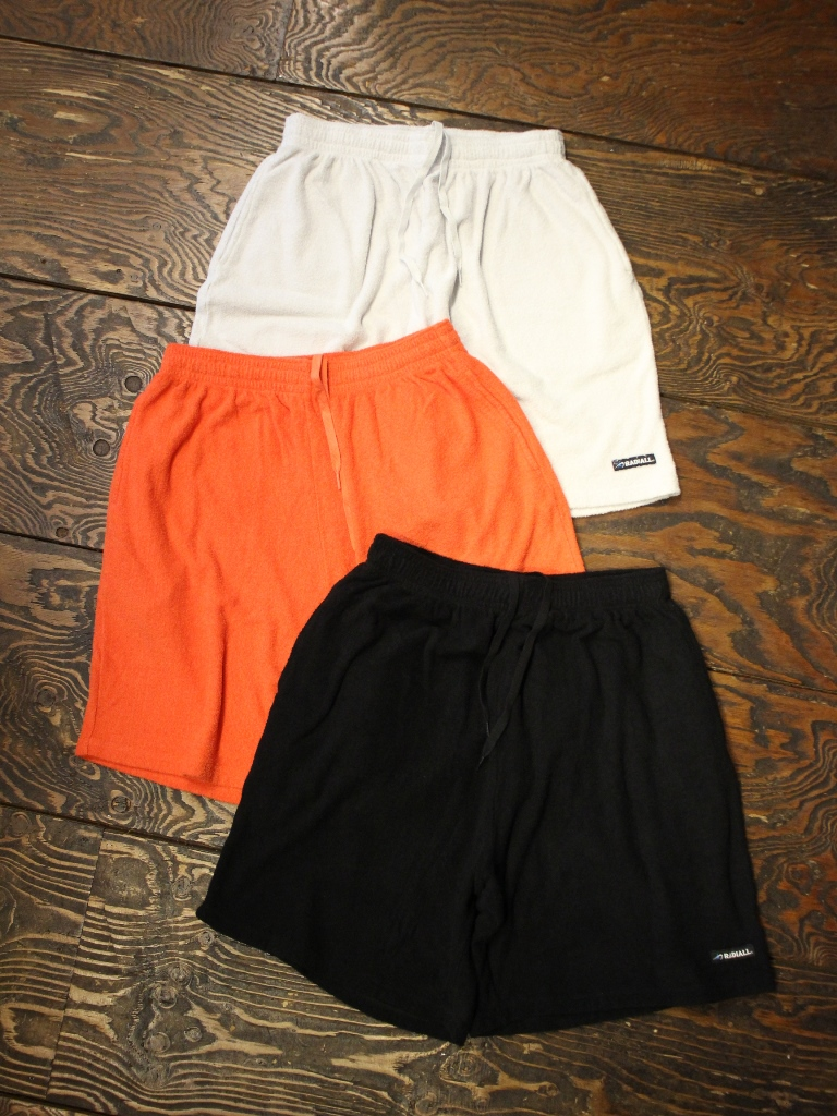 RADIALL    「BAJA - EASY SHORTS」 パイルショーツ
