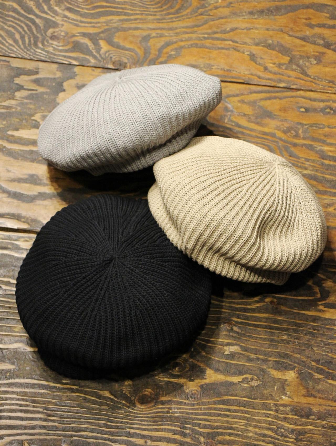 COOTIE   「Knit Beret 」  ニットベレー帽