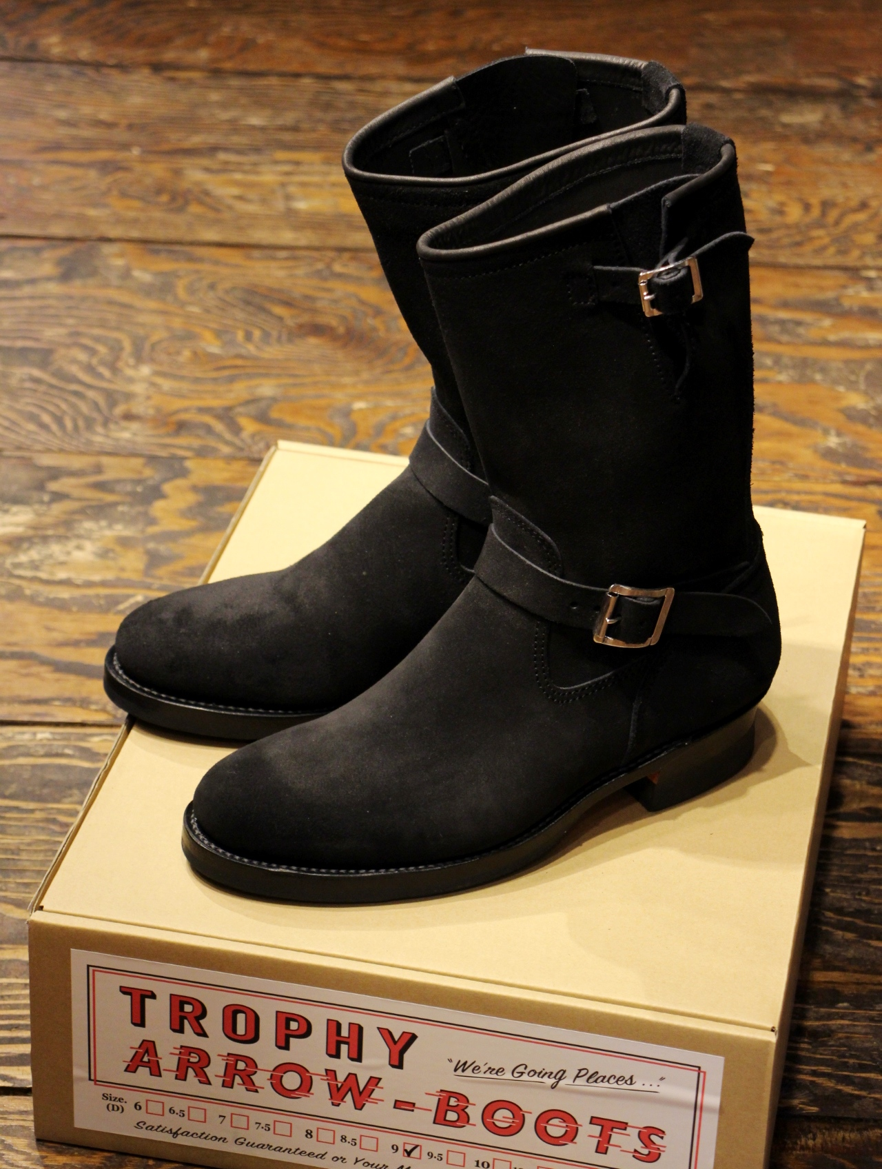 TROPHY CLOTHING  「Rough Out Arrow Engineer Boots」 エンジニアブーツ