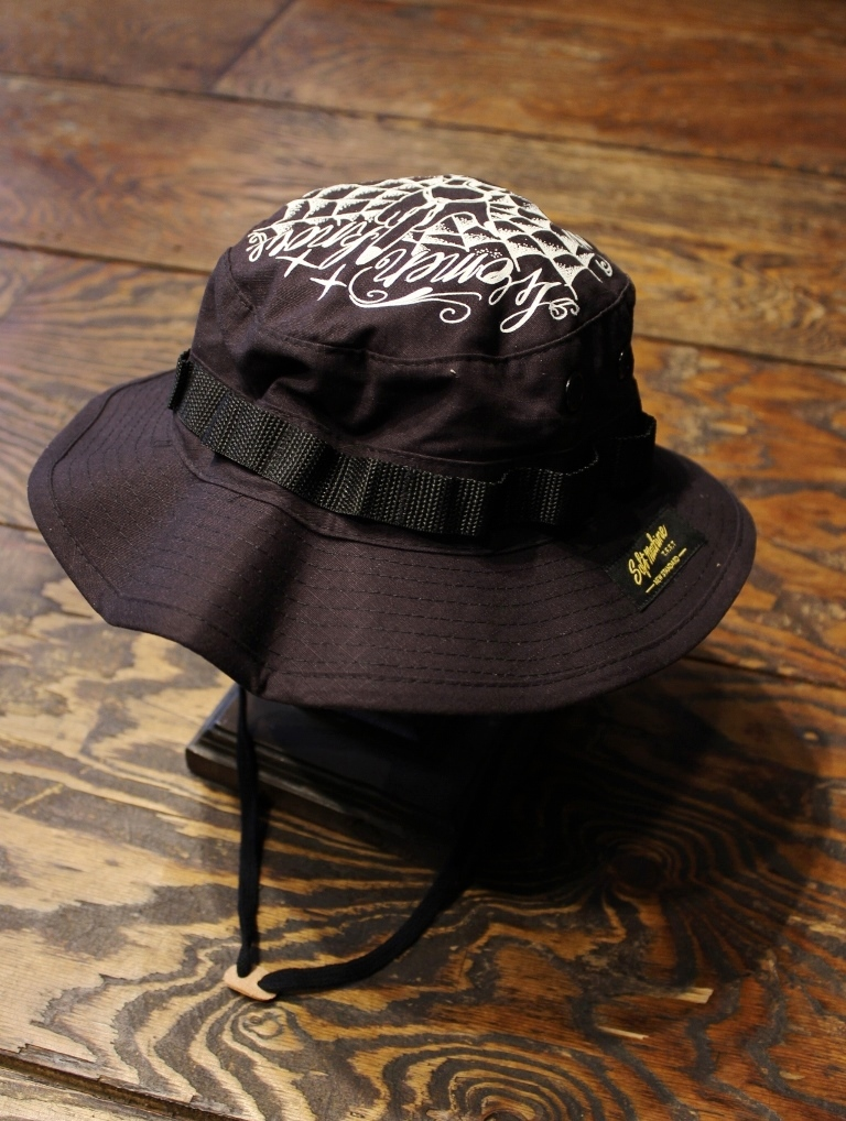 SOFTMACHINE  「VIDA HAT」  ミリタリーハット