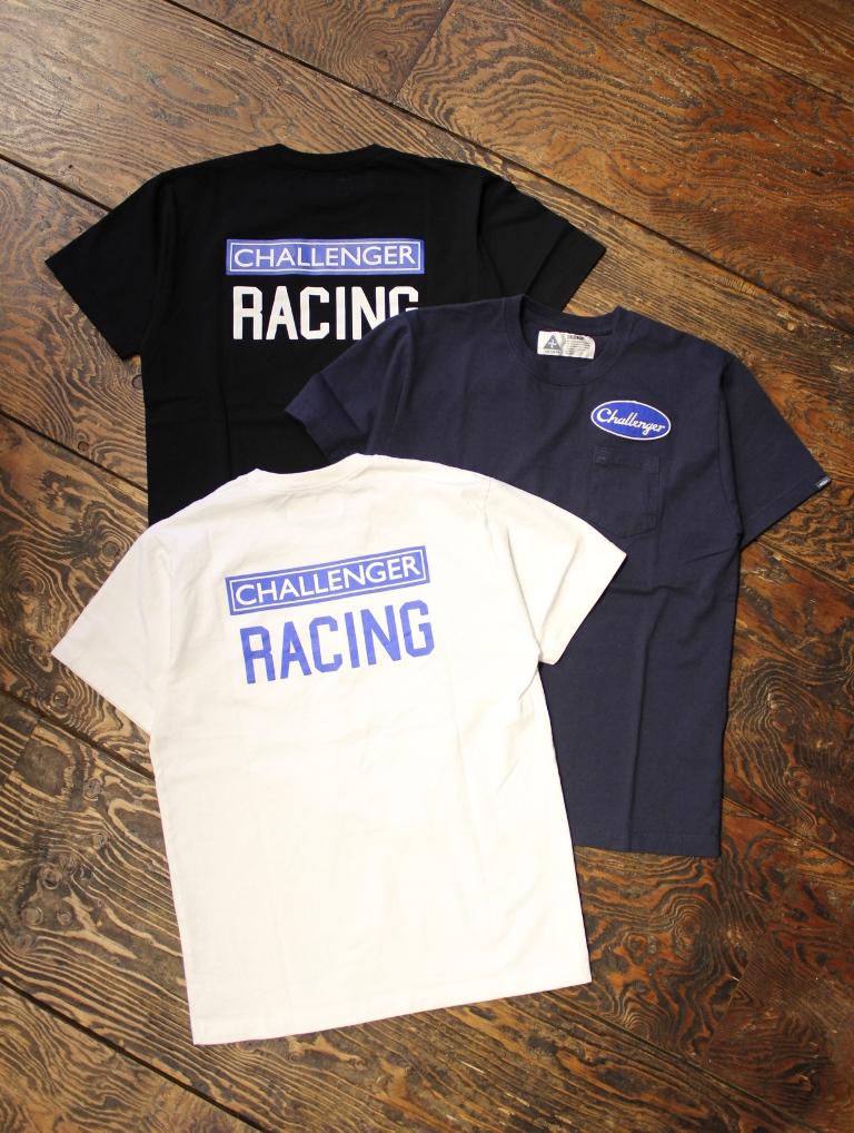 CHALLENGER  「RACING TEE」 プリントポケットティーシャツ