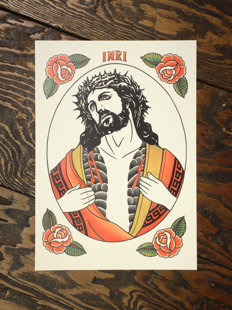 SOFTMACHINE  「INKED MESSIAH POSTER」 A3サイズ ポスター