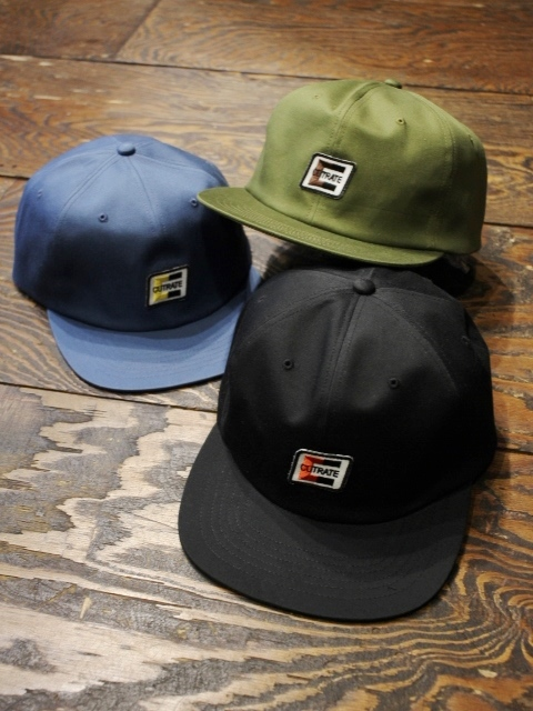 CUT RATE  「WAPPEN TWILL CAP」 ワッペンキャップ
