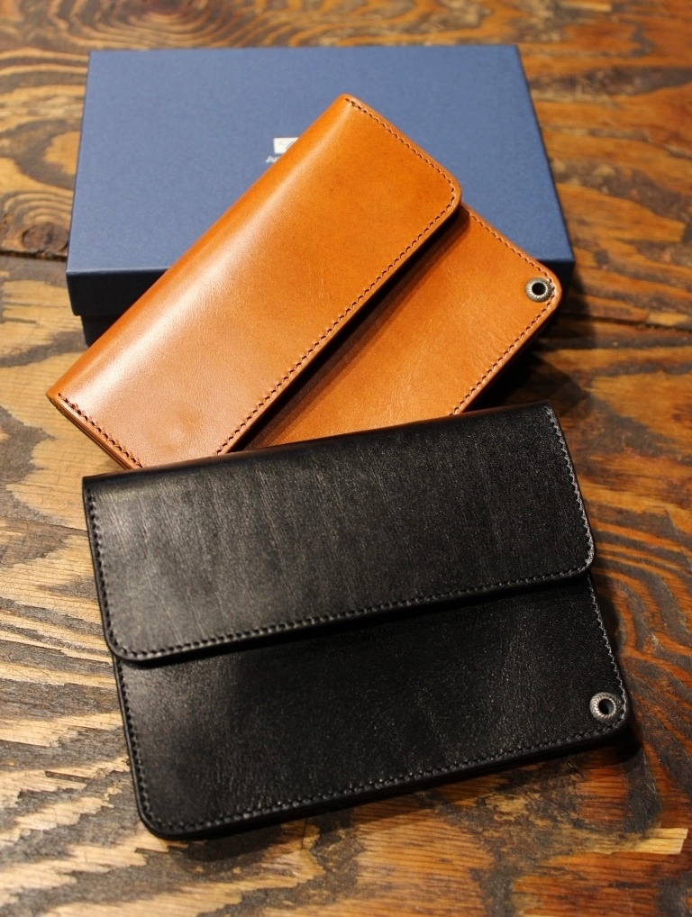 RADIALL    「ANCHOR - SHORT TRUCKER WALLET」  レザーショートウォレット