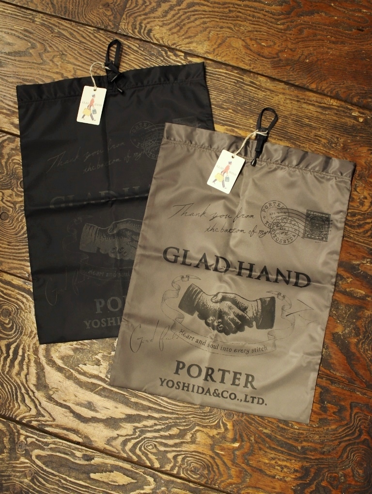 PORTER × GLAD HAND  「GH - SNACK PACK POUCH 〈LARGE〉」  ポーチ