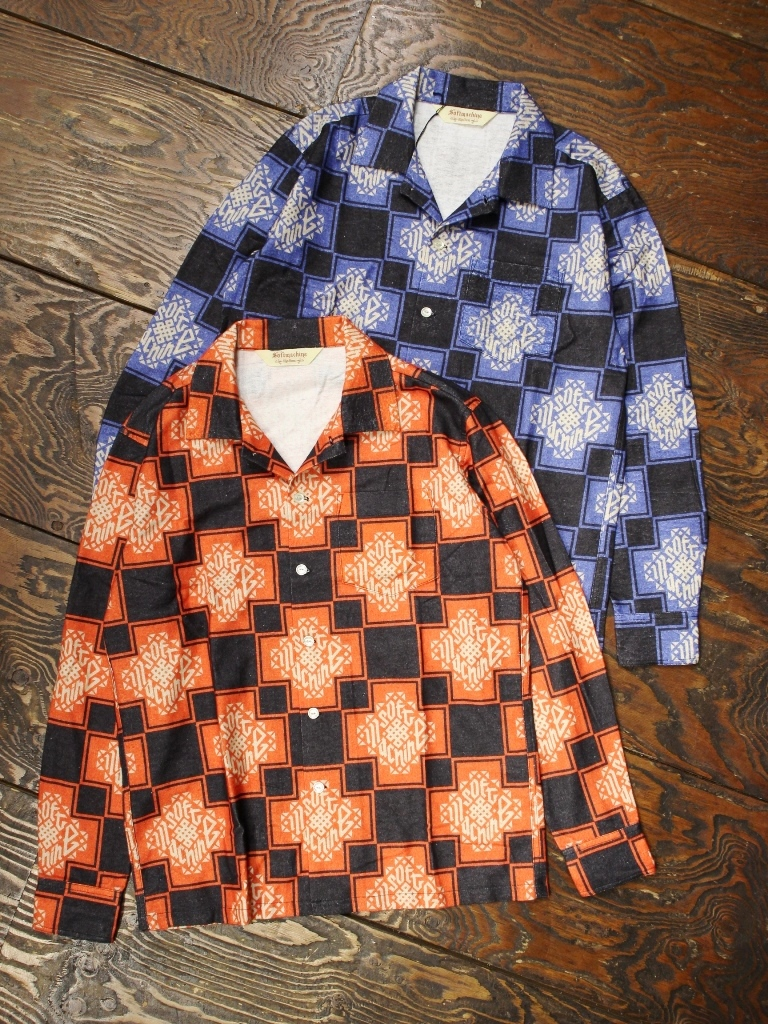 SOFTMACHINE  「TRIBUS SHIRTS L/S」 フランネルシャツ