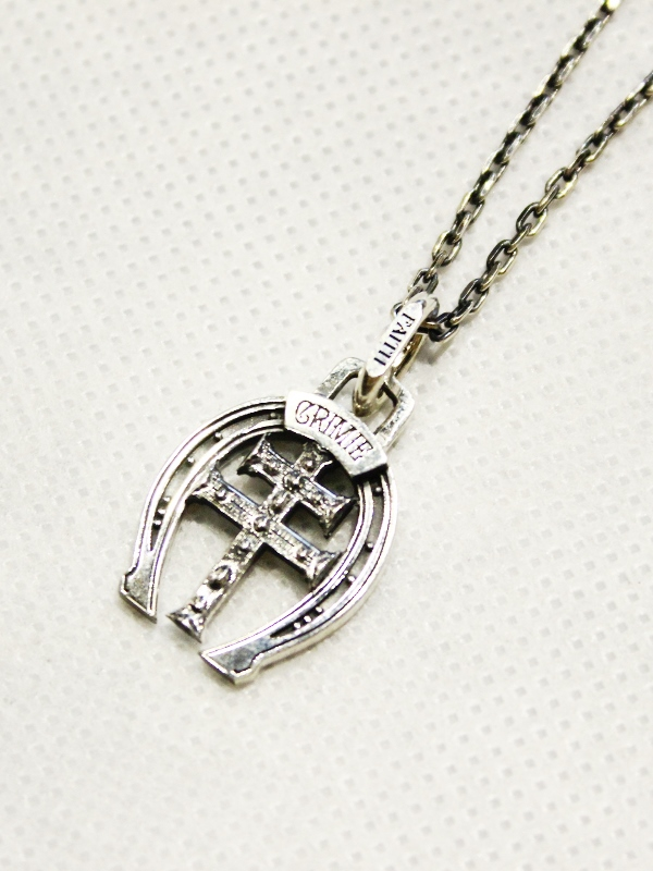 CRIMIE    「HORSESHOE NECKLACE」   SILVER925製 ネックレス