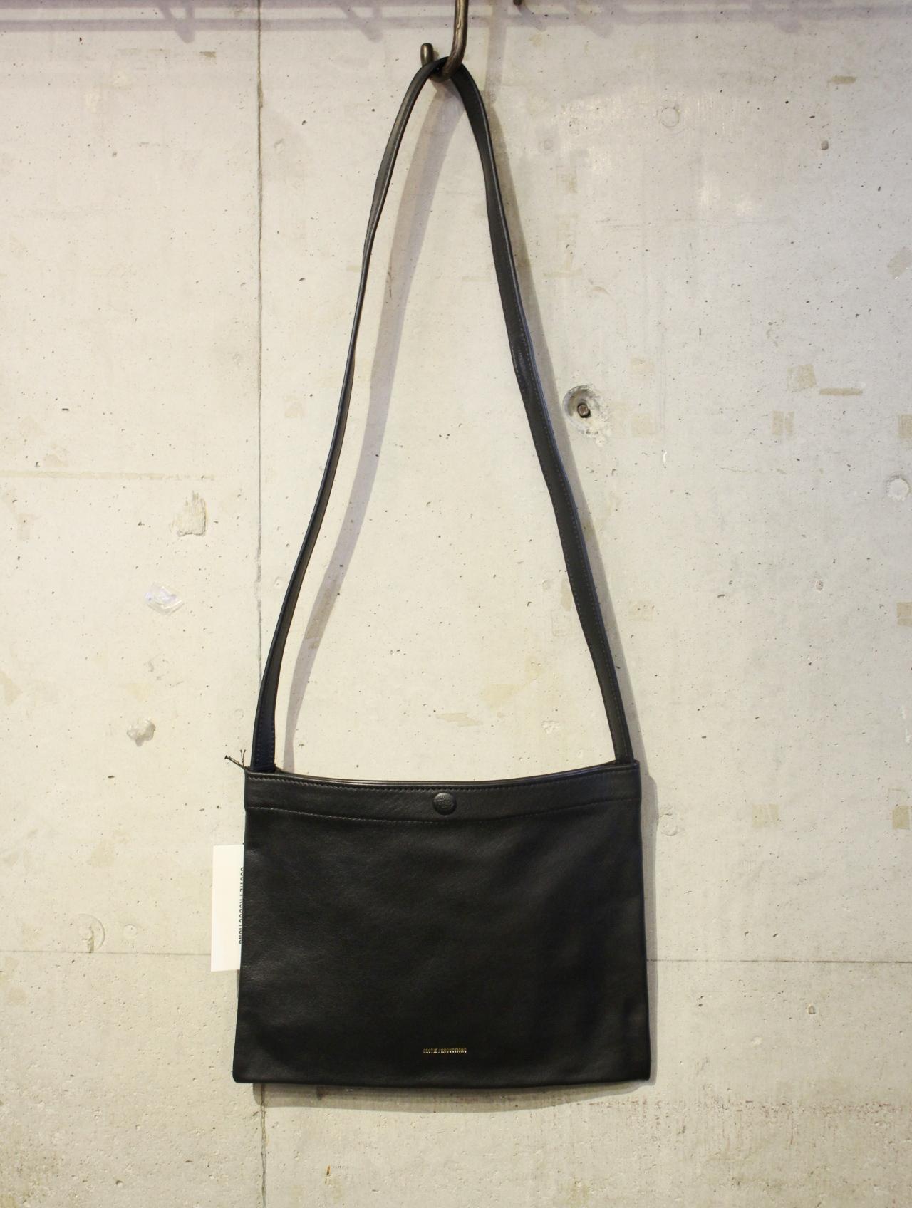 COOTIE   「 Leather Sacoche 」  レザーサコッシュ