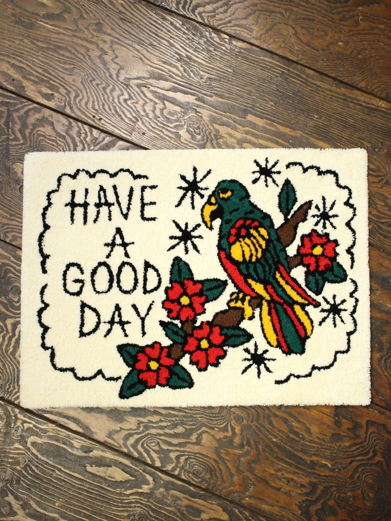 SOFTMACHINE   「GOOD DAY RUG」 ラグマット