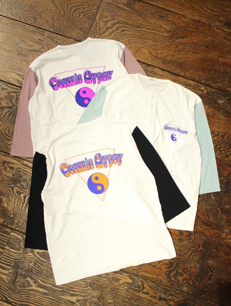 RADIALL  「ONE EIGHTY - HENLEY NECK T-SHIRT M/S」  ヘンリーネック7分袖ティーシャツ