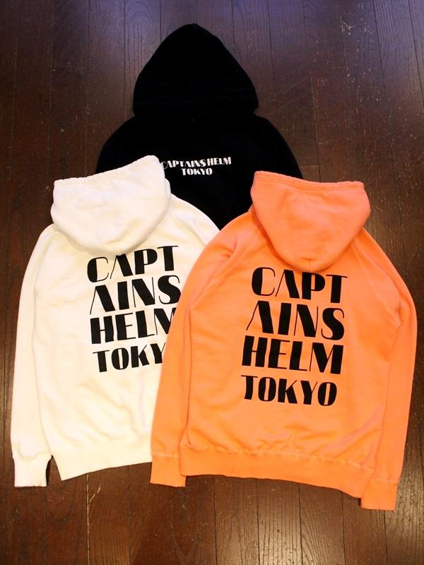 CAPTAINS HELM 「CH TOKYO HOODIE」 プルオーバーパーカー
