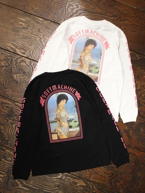 SOFTMACHINE  「CHOLA L/S」 ロングスリーブポケットティーシャツ