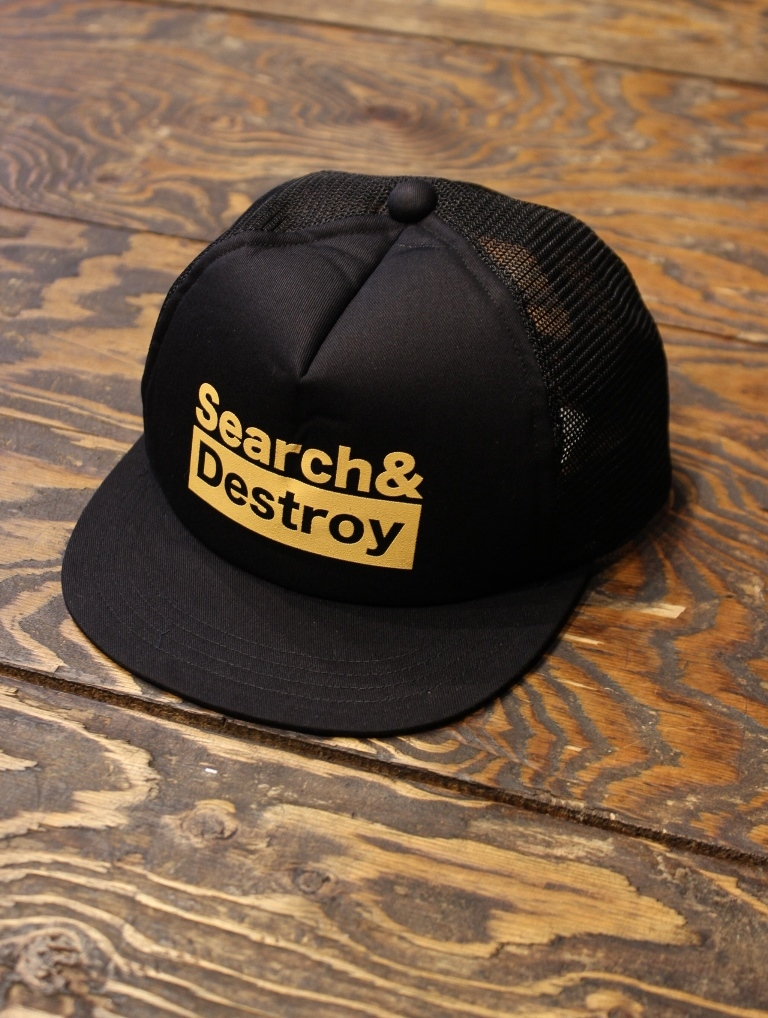 ROUGH AND RUGGED  「DESIGN CAP-01 」 メッシュキャップ