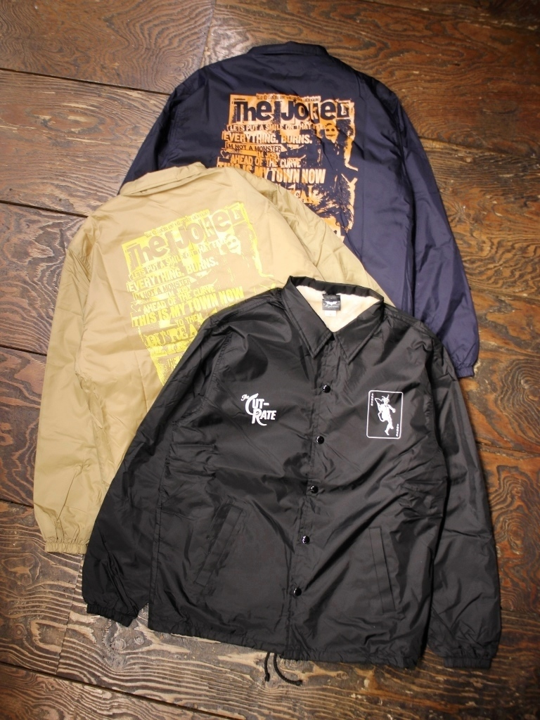 【NEW YEAR ITEM !!】 CUT RATE  「JOKER  NYLON COACH JACKET」 コーチジャケット