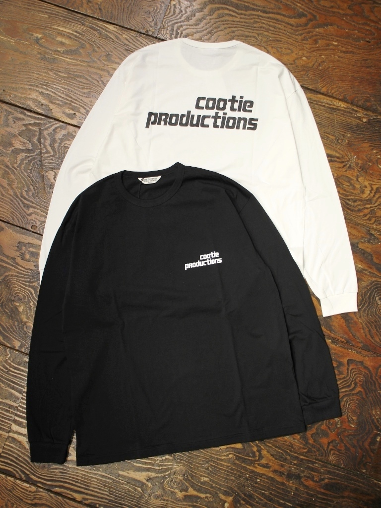 【NEW YEAR ITEM !!】 COOTIE  「 Print L/S Tee (TYPE-B) 」 プリントロンティー