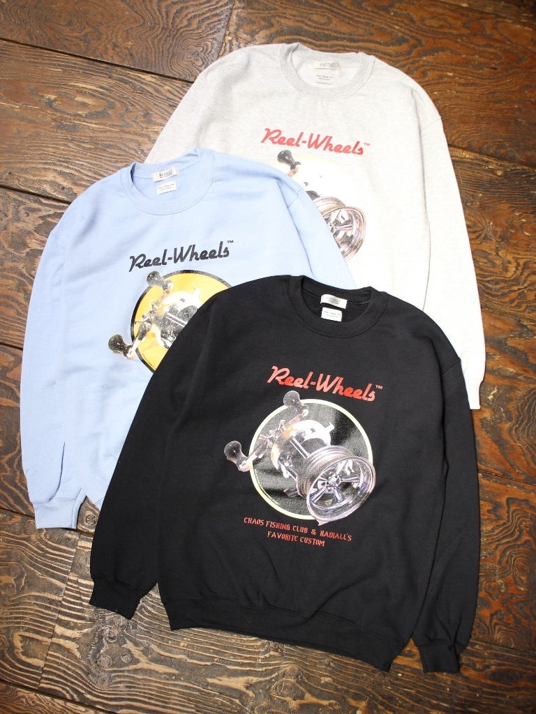 RADIALL × CHAOS FISHING CLUB  「GAMBLING HOURS - CREW NECK SWEATSHIRT L/S」  クルーネックスウェット