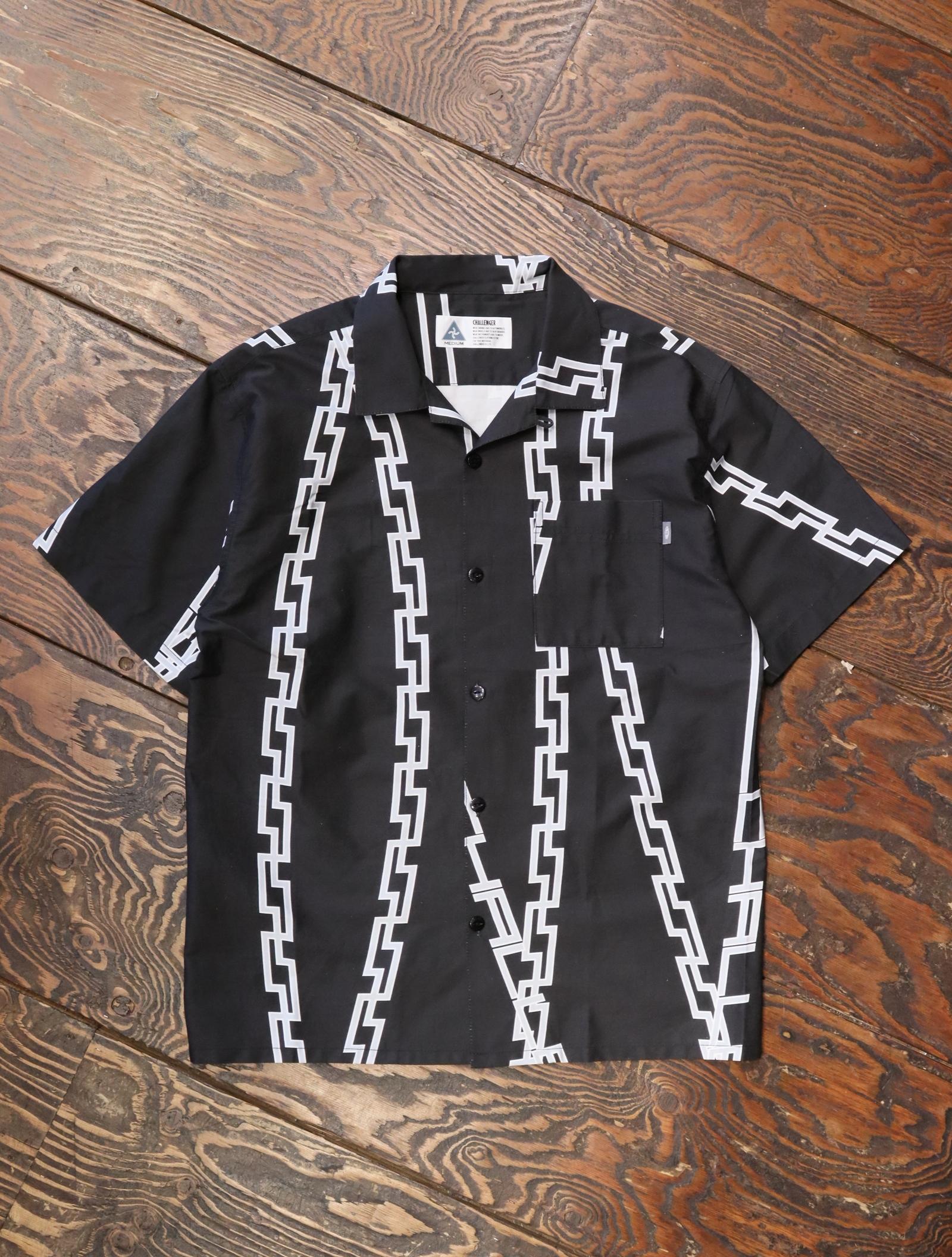 CHALLENGER  「S/S CHAIN SHIRT」  オープンカラーシャツ