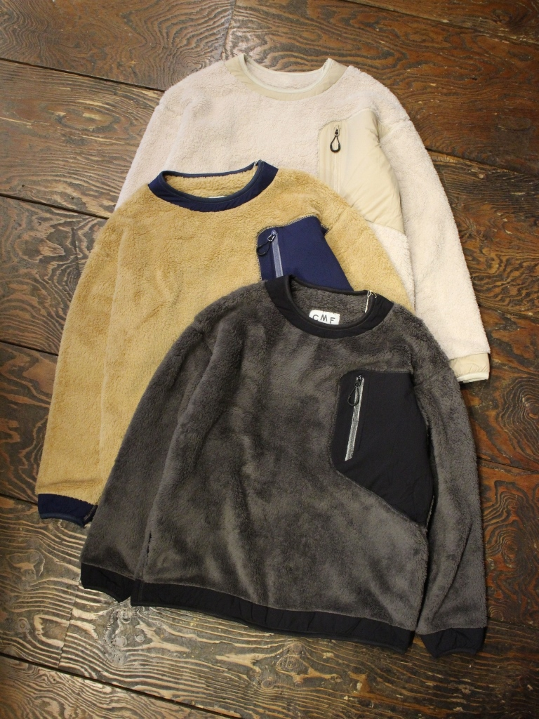 COMFY OUTDOOR GARMENT 「PRECOLD FLEECE TEE」 フリースプルオーバーシャツ
