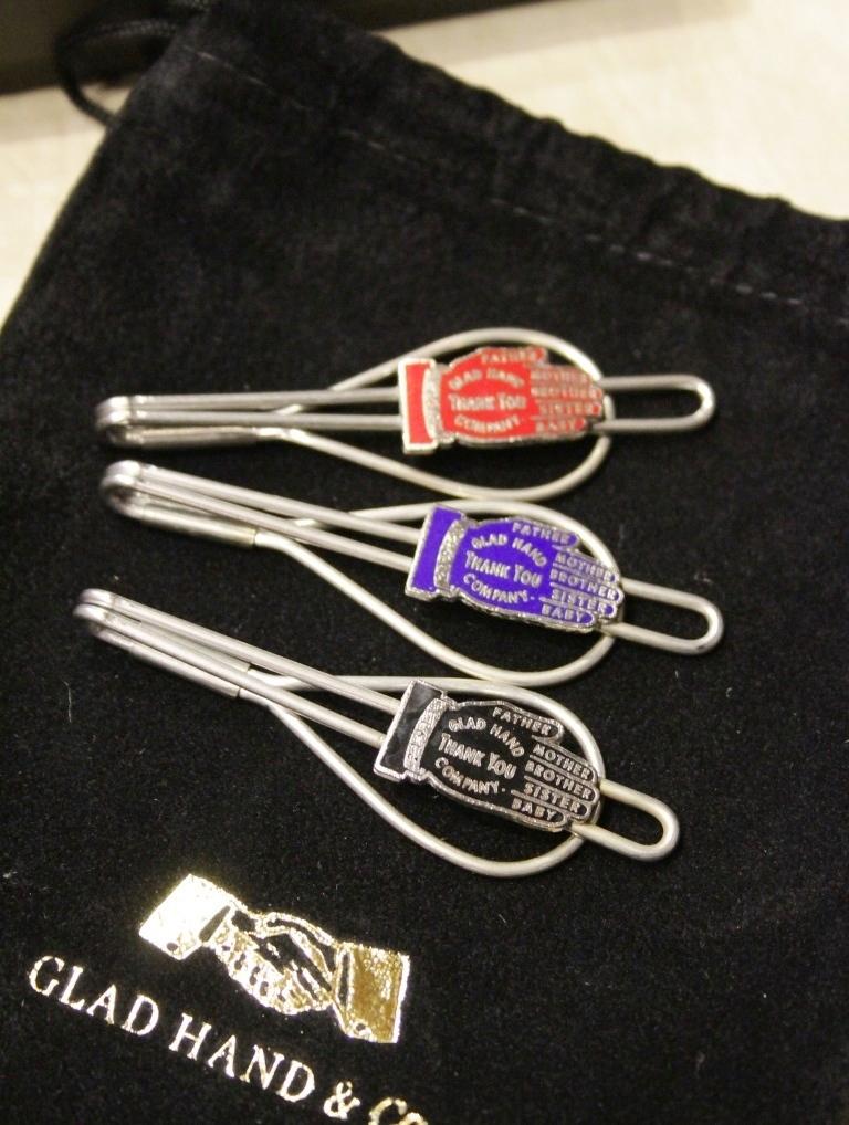 GLAD HAND   「 GH - TIE PIN 」  ネクタイピン