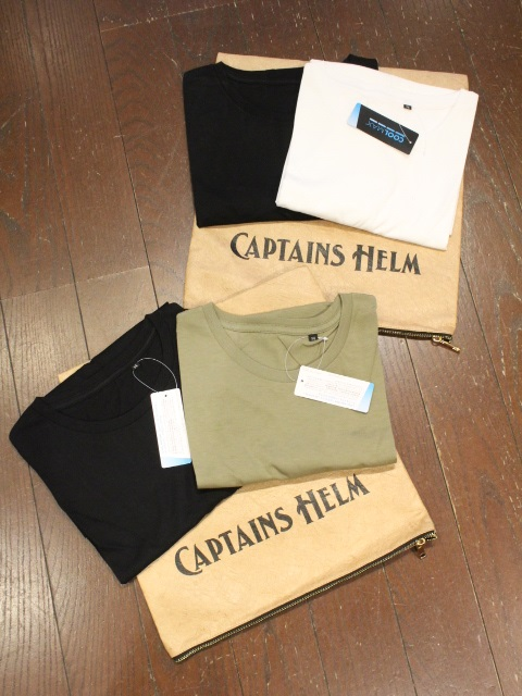 CAPTAINS HELM   「# 2PACK TEE」 2枚組ティーシャツ