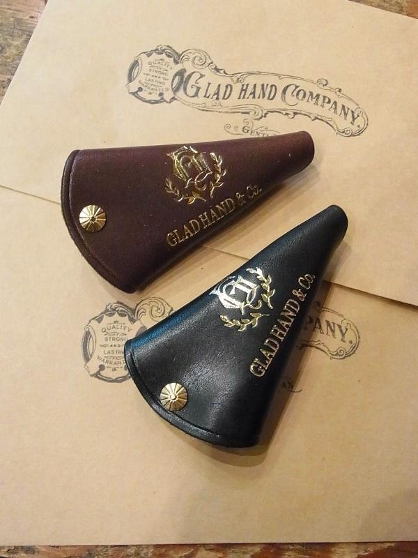 GLAD HAND   「GH LEATHER - KEY CASE  〈SINGLE〉 」  レザーキーケース