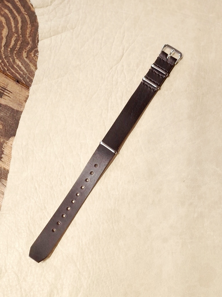 DEXTER  「 Horse leather NATO type Leather band 」  レザーバンド