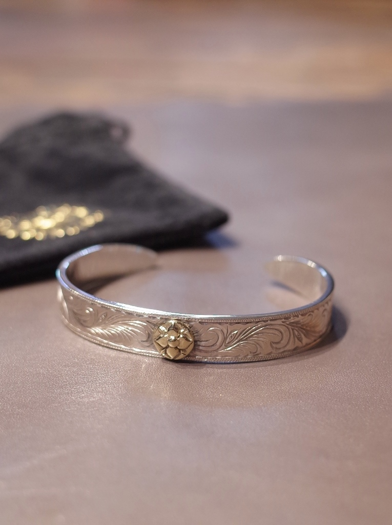 COOTIE × Magical Design  「 Compadre Rose Bangle 」 SILVER950製 バングル