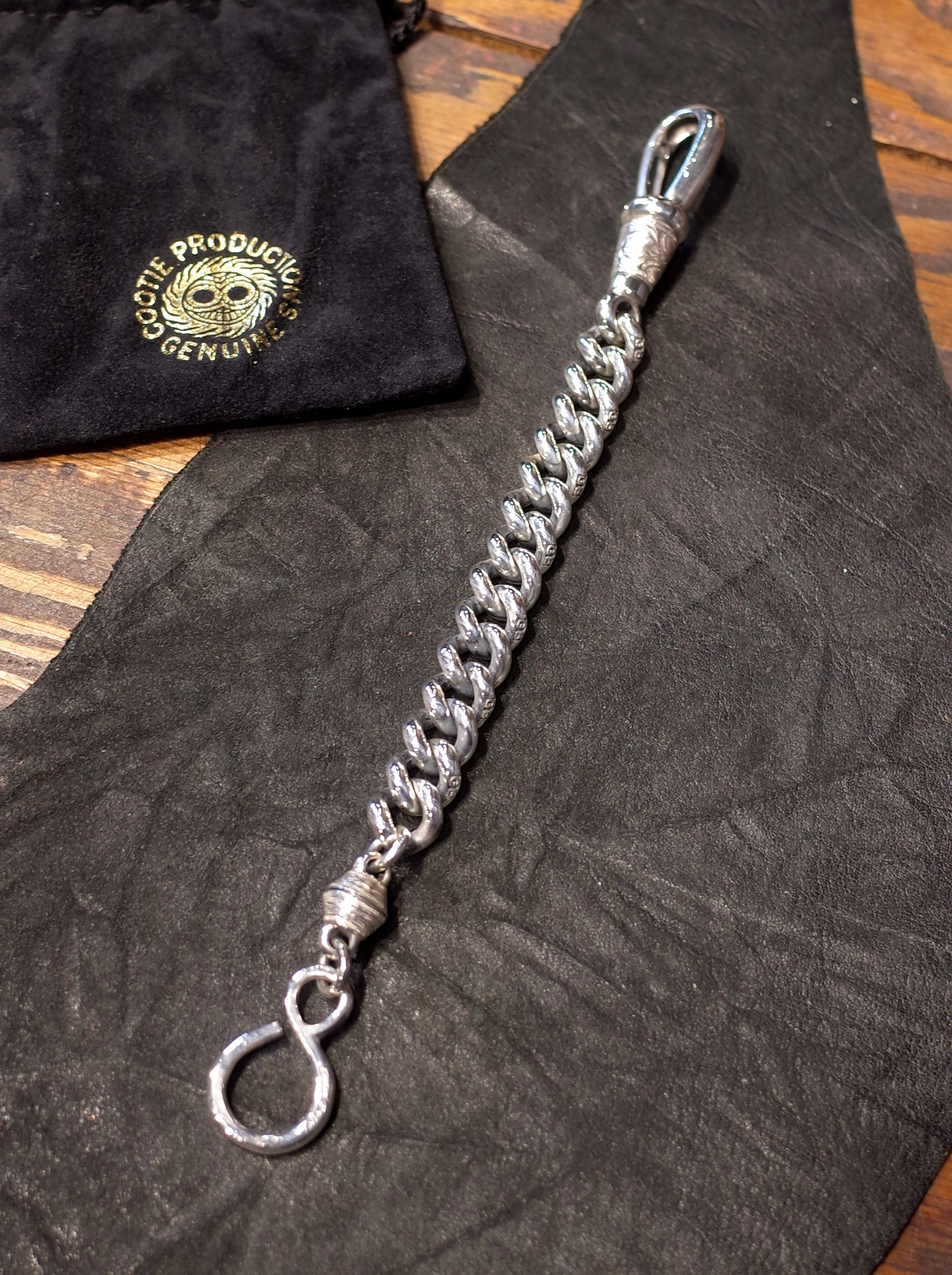 COOTIE × Magical Design  「 Compadre Wallet Chain 〈SHORT〉 」 SILVER950製 ウォレットチェーン