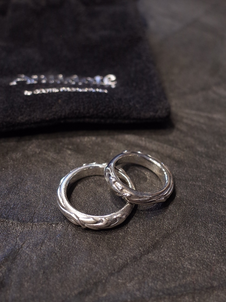 ANTIDOTE BUYERS CLUB by Cootie Productions   「Ornament Ring」 SILVER950製 リング
