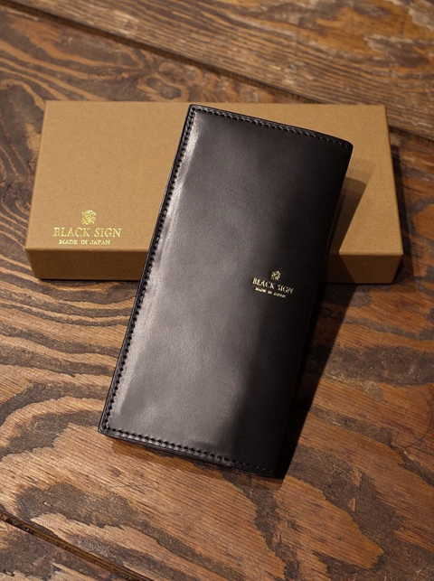 BLACK SIGN   「Horse Butt Bill Wallet 」 レザーウォレット
