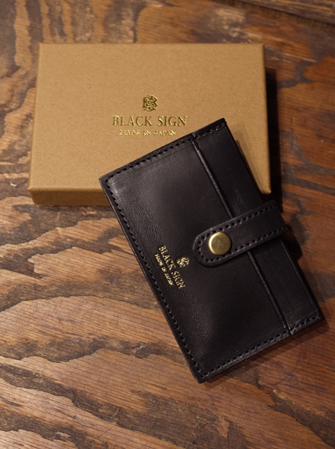 BLACK SIGN   「Horse Butt Card Case 」 レザーカードケース