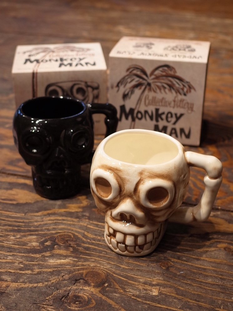 【RESTOCK ITEM !!!】  RADIALL  「MONKEY MAN MUG」 マグカップ