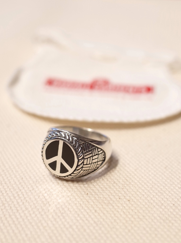 RADIALL  「PEACE SYMBOL RING 」  SILVER925製リング