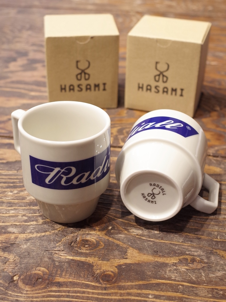 RADIALL  「HAVE A SMOKE BLOCK MUG BIG」 マグカップ