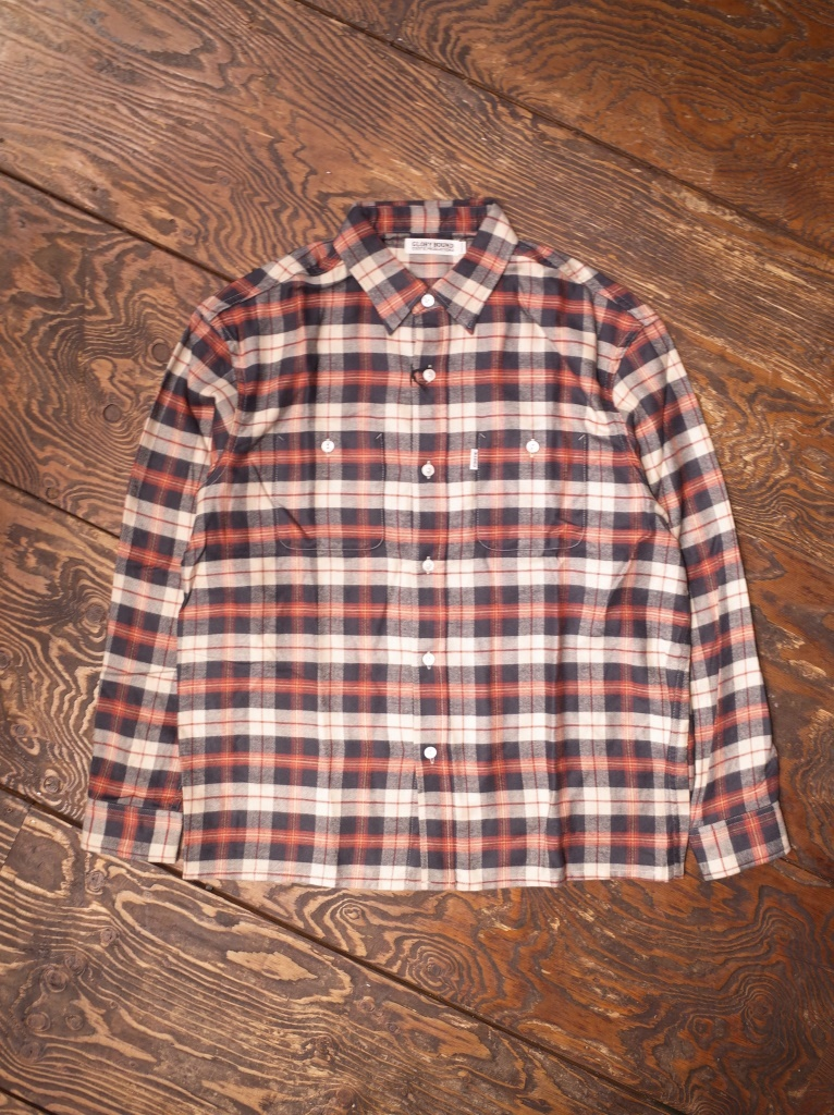 COOTIE  「Tartan Check Oversized Work Shirt」 タータンチェック オーバーサイズワークシャツ