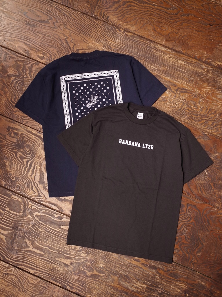 CHALLENGER    「 BANDANALYZE BD TEE 」 プリントティーシャツ