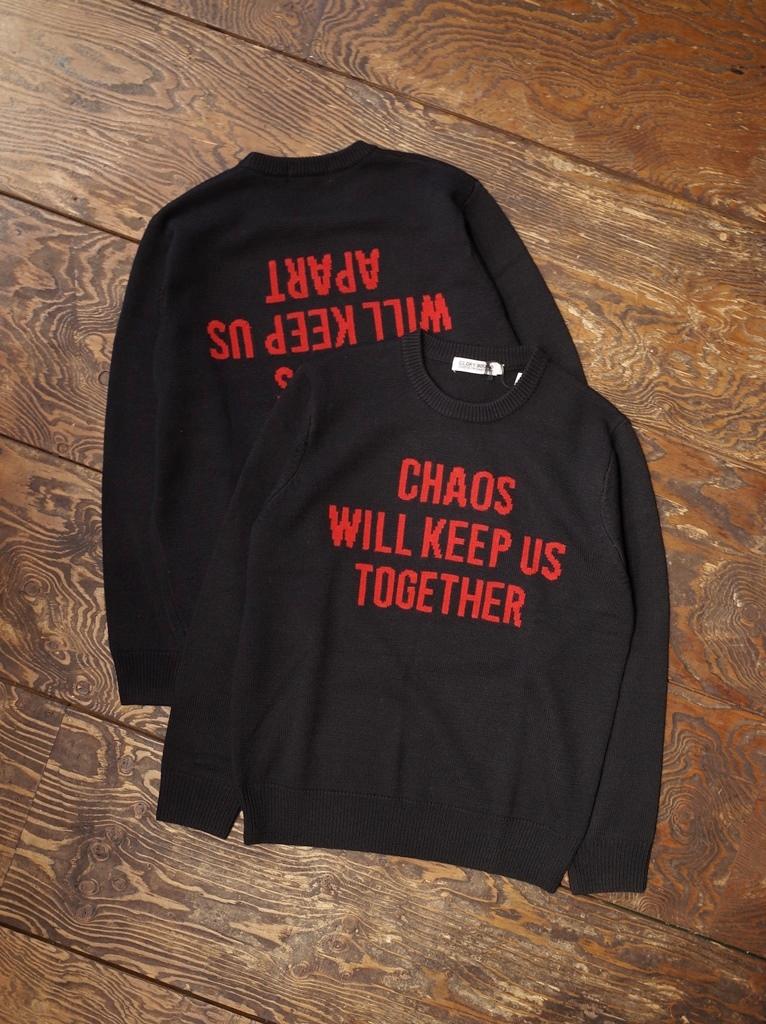 COOTIE  「 Slogan Sweater 」  クルーネックセーター