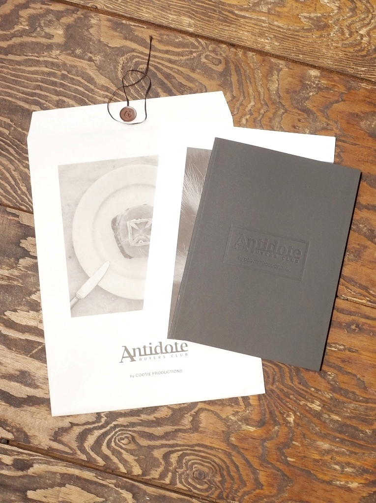 ANTIDOTE BUYERS CLUB by Cootie Productions   「ANTIDOTE Look Book」 ルックブックセット