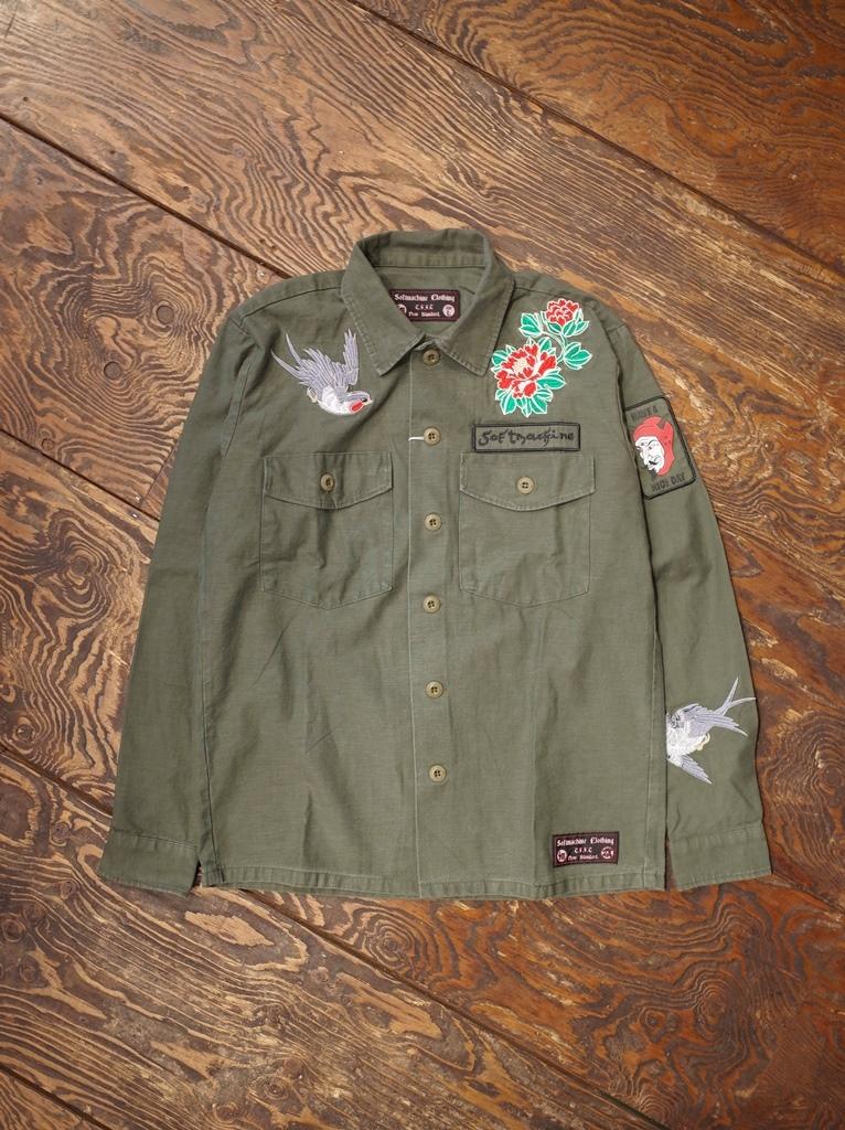 SOFTMACHINE  「GARDEN SHIRTS  」 ミリタリーシャツジャケット