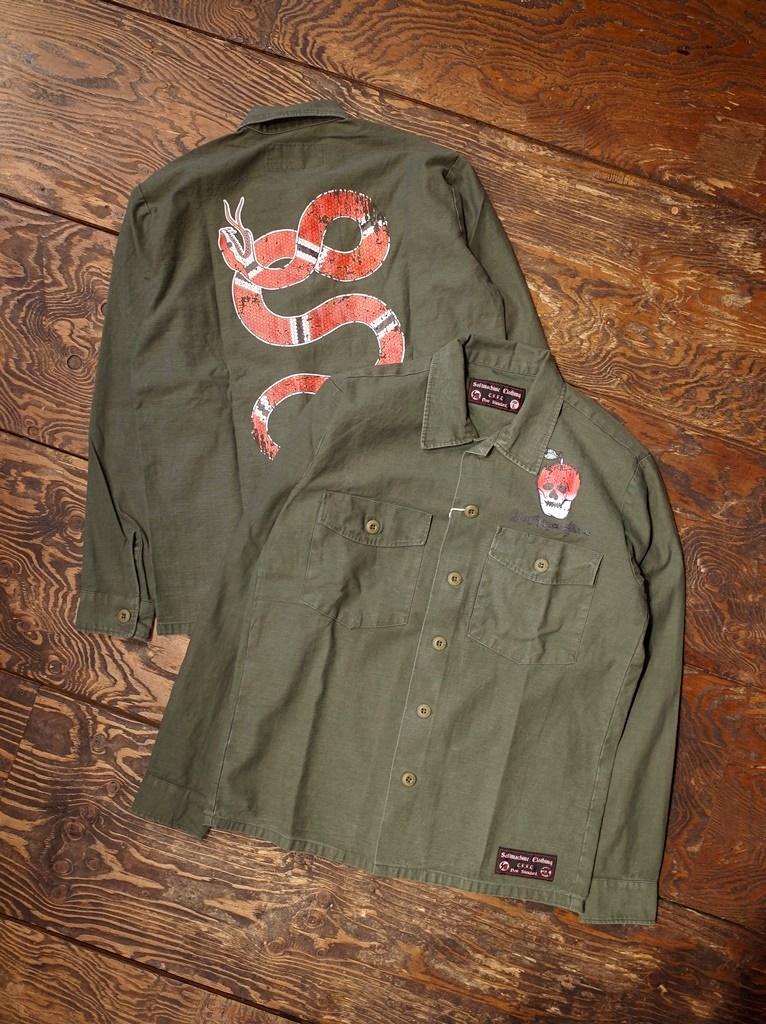 SOFTMACHINE  「TEMPTATION SHIRTS  」 ミリタリーシャツジャケット