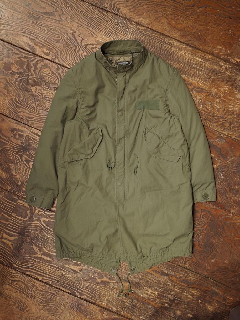 COOTIE   「Fishtail Coat」  フィッシュテールコート