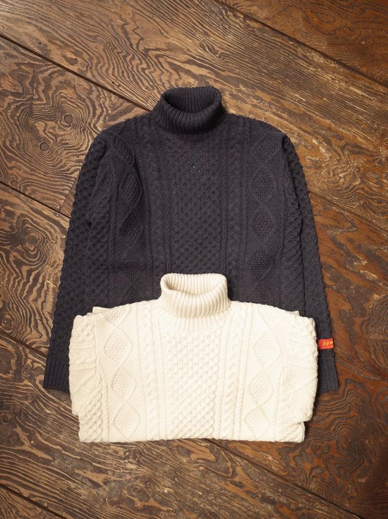 SOFTMACHINE  「TERENCE SWEATER」  タートルネックセーター