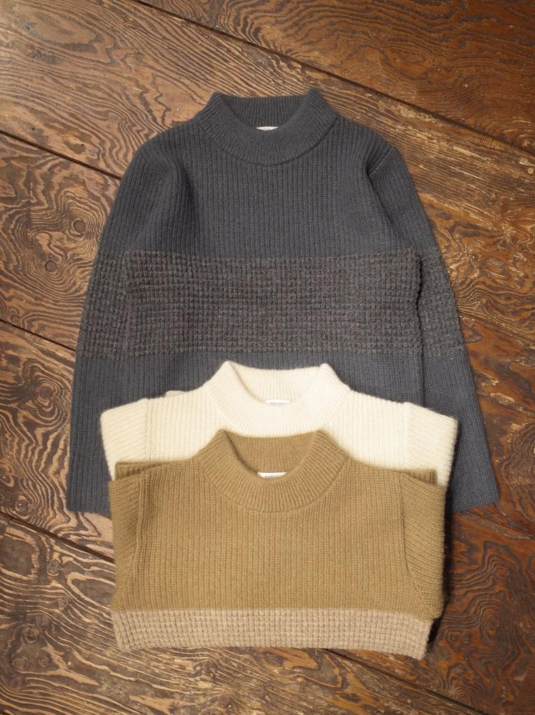 RADIALL 「MOON STOMP MOC NECK SWEATER」 モックネックセーター