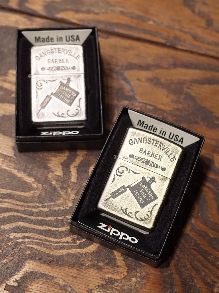 GANGSTERVILLE   「CLASSIC PARLOR −ZIPPO 〈A〉」  ZIPPOライター