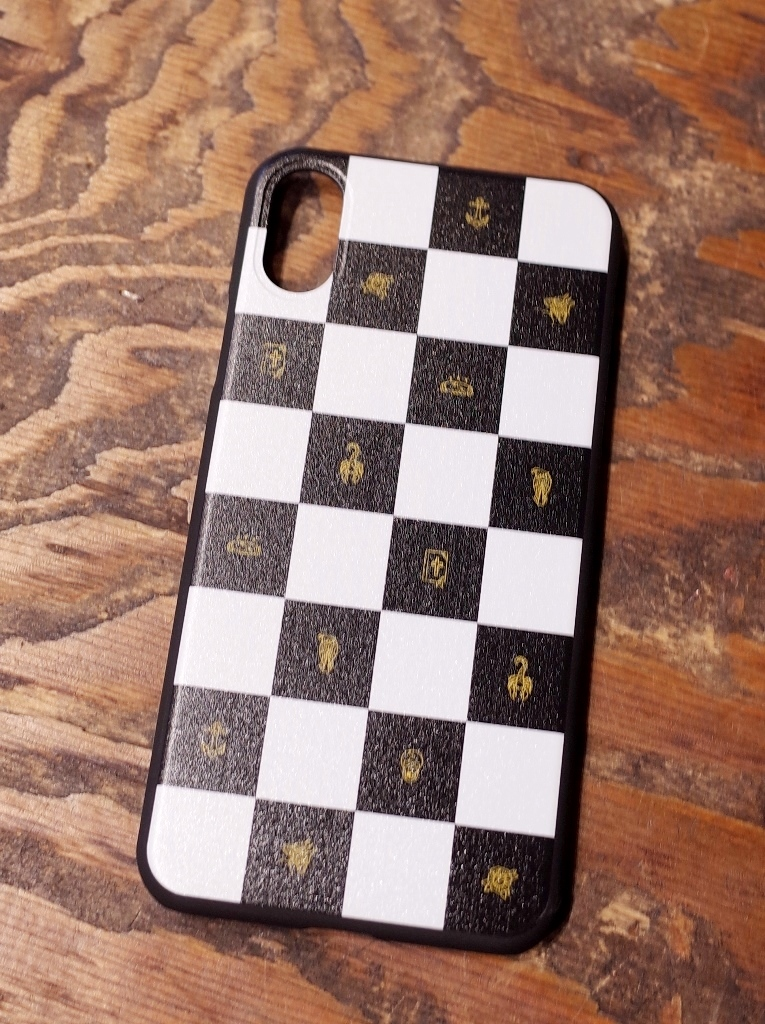 SOFTMACHINE   「CHESSBOAD iPhone CASE X」 iPhone X ケース